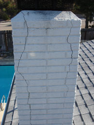 rampart cracked chimney - Services