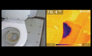 9 RR1216 Thermal Imaging Technology toilet leak 300x183 - Services
