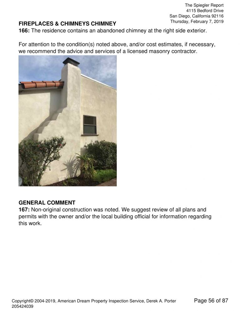 4115 Bedford Drive 56 768x994 - Residential Single Family Sample Inspection Report