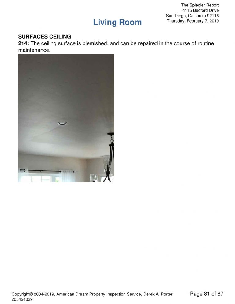 4115 Bedford Drive 81 768x994 - Residential Single Family Sample Inspection Report